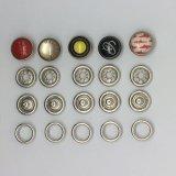 Accesorios para prendas Pearl Prong Cap Snap Fasteners Button