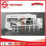 Fácil funcionar la punzonadora de la torreta del CNC/el precio automático de la prensa de sacador de la perforación de orificio Machine/CNC