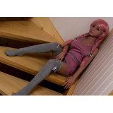 skelet van Doll van het Geslacht van het Silicone van de Hoogste Kwaliteit van 140cm het Zwarte