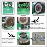 Rettificazione superficiale della cassa per orologi automatica e delle piccole parti dell'acciaio inossidabile e macchina di polacco
