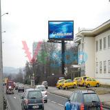 Afficheur LED polychrome de la publicité extérieure de P8 IP65