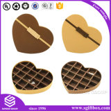 Presente Embalagem Papel Chocolate Heart Shape Candy Box