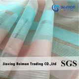 Shinning Streifen-Organza-Gewebe für das Form-Dame-Kleiden