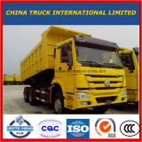 Lage Prijs HOWO 10 de Kipper van de Vrachtwagen van de Stortplaats van Wielen 6X4 met Goede Voorwaarde voor Afrika