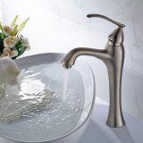 Mercadorias sanitários escovados niquelar do Faucet da bacia