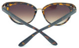 Senhora nova Sunglass da qualidade do projeto F17248, vidros de Sun das mulheres da forma