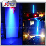 Preço de fábrica LED Whips Single Color LED Safety Whip Light 4FT 5FT 6FT 8FT LED Aviso Antena Flag Pole Lights para Jeep UTV ATV Wholesale Screw in Base