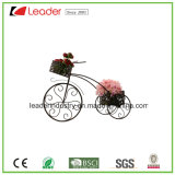 Puder-überzogene MetallfahrradFlowerpots für Ausgangs-und Garten-Dekoration
