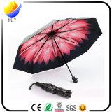 منعت عمليّة بيع عادية يتشمّس في مظلة أسود [أوف] حماية مظلة