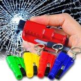 2 in 1 Emergency Minisicherheits-Hammer-Selbstauto-Fenster-Glas-Unterbrecher-Sicherheitsgurt-Scherblock-Rettungs-Auto-Life-Saving Entweichen-Hilfsmittel