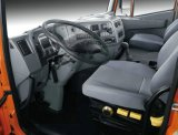Tipper de Kingkan 8X4 da venda/caminhão anúncio publicitário da descarga