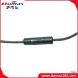 oortelefoon van het Oor van de Classificatie van de Macht van de Stop van 3.5mm de Gouden 3MW Stereo met de Functie van de Draad