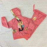 Het Kostuum van de Sport van het Meisje van de Jonge geitjes van de Vacht van de winter in Kleding sq-6666 van Kinderen