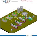 Tech Máquina verde grande pirólisis para Reciclaje de Residuos de Aceite