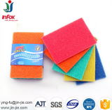 다채로운 비 찰상 부엌 도와 청소 닦는 패드