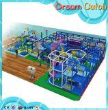 Аттестованная спортивная площадка смешной мягкой системы игры опирающийся на определённую тему крытая