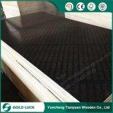 molde Shuttering enfrentado do muro de cimento da madeira compensada de 4FT*8FT Brown película preta