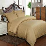 Полные комплекты постельных принадлежностей хлопка с конструкциями нашивки сплошного цвета