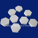 プーリーラギングのためのアルミナの陶磁器のライニングの六角形のタイル