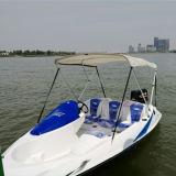 Mini barco del deporte del equipo estándar caliente de la venta con 2 el motor externo del movimiento 90HP