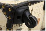 Mala de viagem do chassi da placa da mala de viagem da caixa de Rod do rodízio com impressão