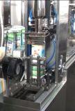 クランベリーの風味の切り妻の上のカートンの満ちるシーリング機械