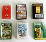 Angepasst, Schürhaken-Spielkarte-Spiel-Karten bekanntmachend