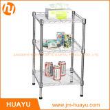 Garaje Organizador 3 Nivel de alambre de metal estante de almacenamiento