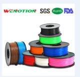 filament d'imprimeur du filament 3D de PLA d'ABS de 1.75/3.0mm