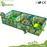 Práctica cubierta del equipo del patio de los niños populares Comercial