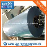 Calandrage 600mm Largeur Effacer Film PVC rigide Rouleau pour Blister