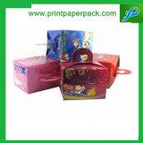 Rectángulo de regalo de papel de empaquetado de la Navidad de la confitería del chocolate