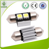 Luz do diodo emissor de luz do carro do diodo emissor de luz T10 de Canbus