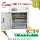 ベストセラーの卵の産業鶏の卵の定温器の卵176個(YZITE-4)