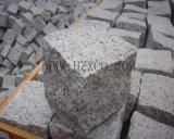 Natural Split Grey Granite G603 Pavé Pavé Cobblestone Cubestone