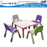 Salle de classe Furniture Plastic Kids Table et Chair Set (HC-1503)