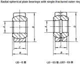 Radial Spherical Plain Bearing Ge60es Ge60es2RS Ge70es Ge70es2RS Ge80es Ge80es2RS