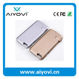 iPhone 6のための携帯用力バンクが付いている2016新製品の電槽の電話カバー