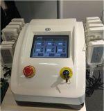 Portable 5 Laser-Gewicht-Verlust-Maschine H-1005b des HF-Haut-Sorgfalt-Griff-6pads 650nm