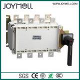 Interruptor manual duplo elétrico de transferência da potência 3p 4p de 1A a 1600A
