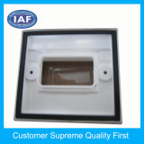 Fabricante plástico del molde de la inyección clara de encargo del rectángulo de China