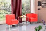 (SX-128) Estilo Casa Mobiliário Europeia PU Lazer Chair Combinada
