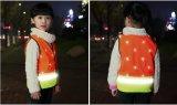 Maglia riflettente di traffico di sicurezza di alta visibilità sveglia del bambino/allievo/allievo