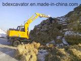 Macchina di legno Bd80-8 di Loaidng degli escavatori della rotella di Baoding