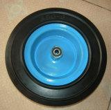 Roda de borracha contínua resistente de 12 polegadas