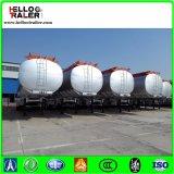 세 배 차축 42000L 탄소 강철 디젤유 휘발유 연료 탱크