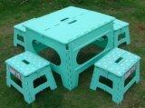 Outerdoor 현대 플라스틱 의자 세륨을%s 가진 휴대용 접히는 가구 테이블 & 발판
