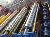 完全なAuto Trapezoidal ProfileおよびCorrugated Tile Roofing Sheet Roll Forming Machine