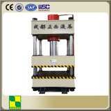 Máquina de la prensa hidráulica con la columna cuatro