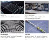 Del acero inoxidable del metal precio de acrílico de la cortadora del laser del CO2 del metal no